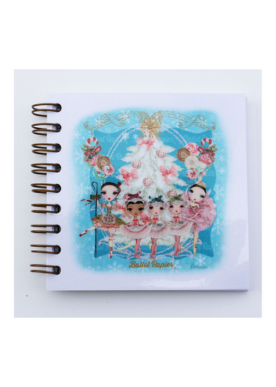 Square Notebook The Nutcracker Ballet