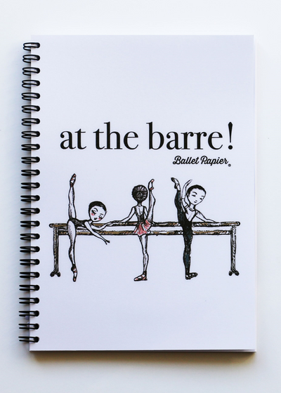 A5 Notebook Meet me at the Barre