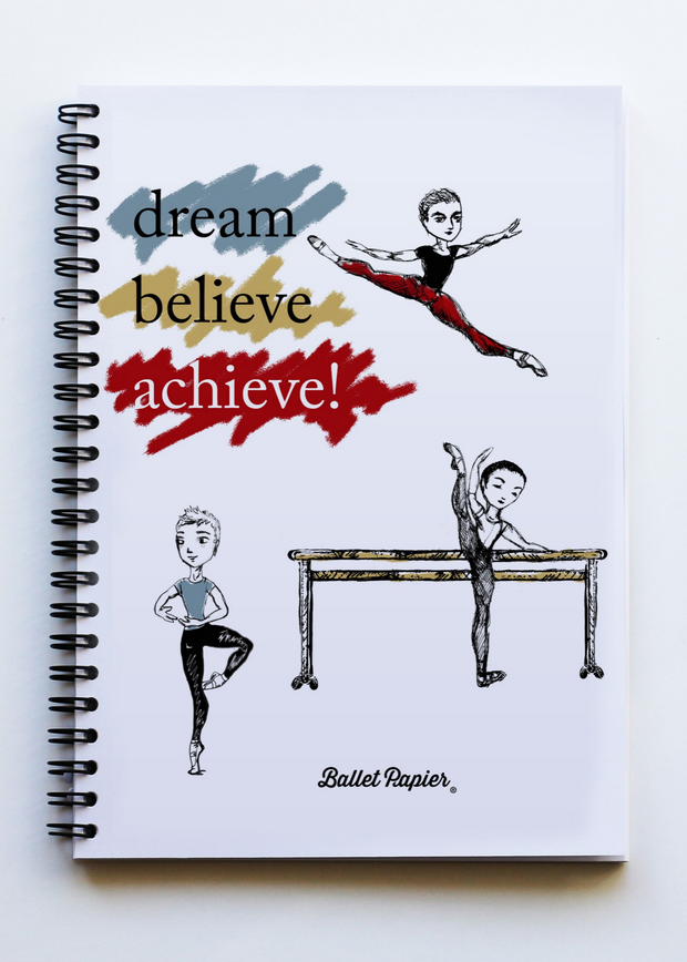 A5 Notebook Ballet Boys