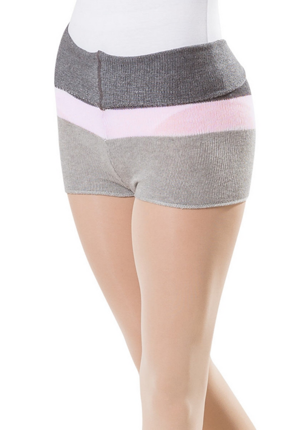 Knitted Cotton Dance Shorts