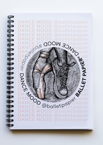 A5 Notebook Dance Mood