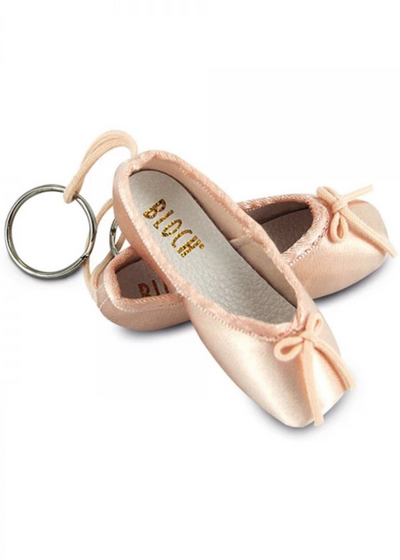 Mini Pointe Shoe Key Chain