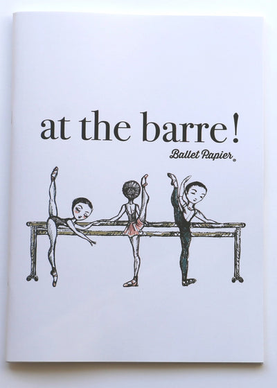 A4 Notebook Meet me at the Barre