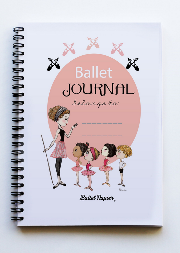 A5 Notebook Ballet Journal