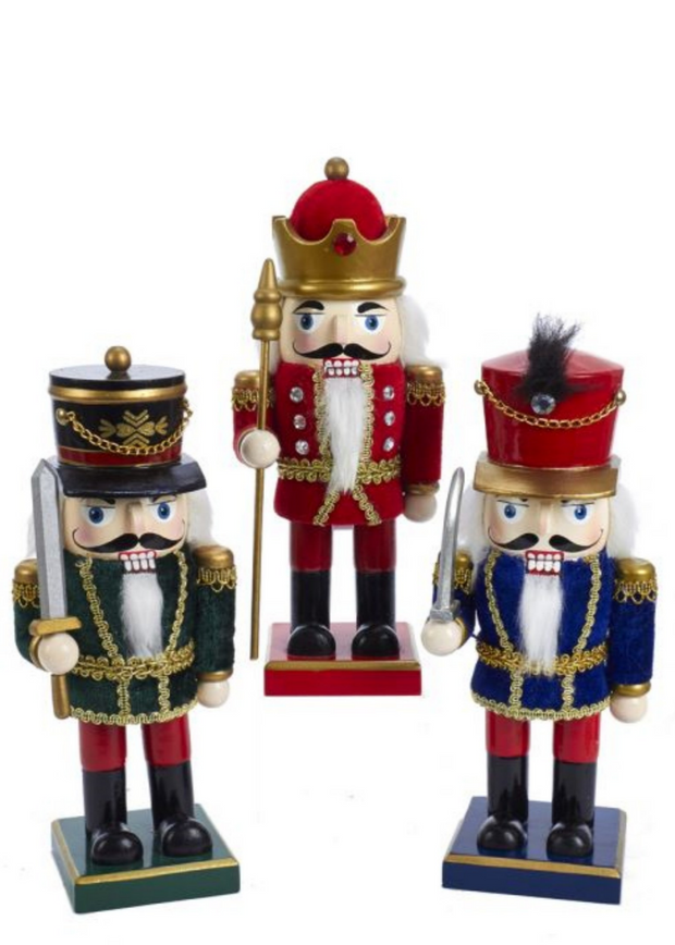 "9"" Wooden Chubby Nutcracker"