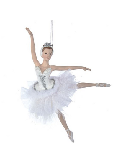 Resin Swan Lake Ballerina Ornament