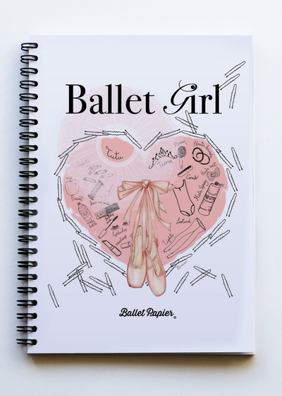 A5 Notebook Ballet Girl