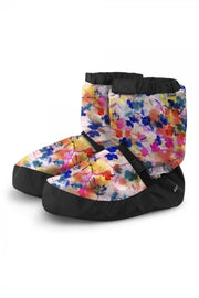 Printed Warm-up Booties
