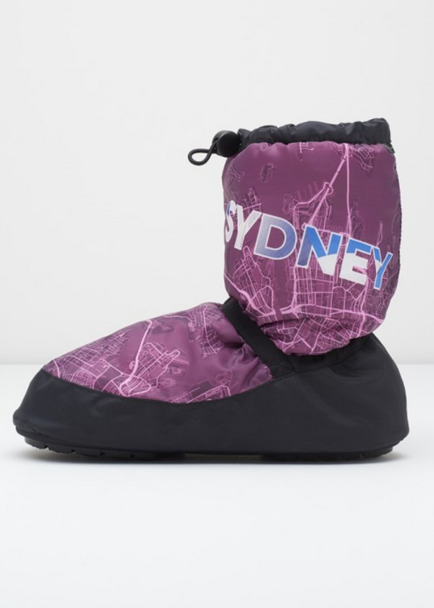 City Maps Bootie