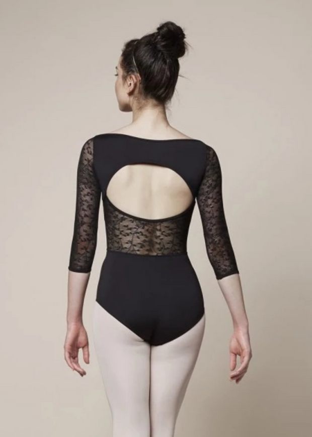 Mirella Wide Neckline Leotard