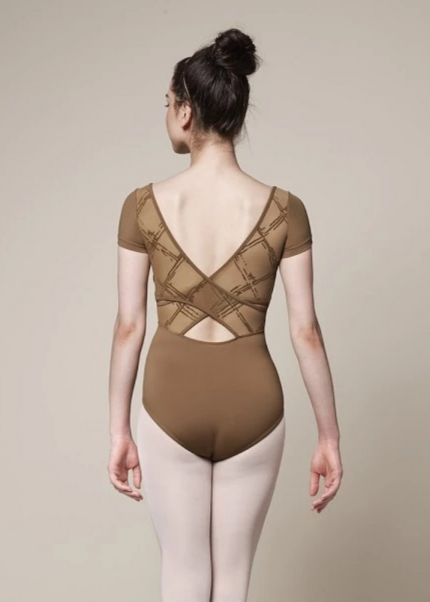 Mirella Cap Sleeve Leotard