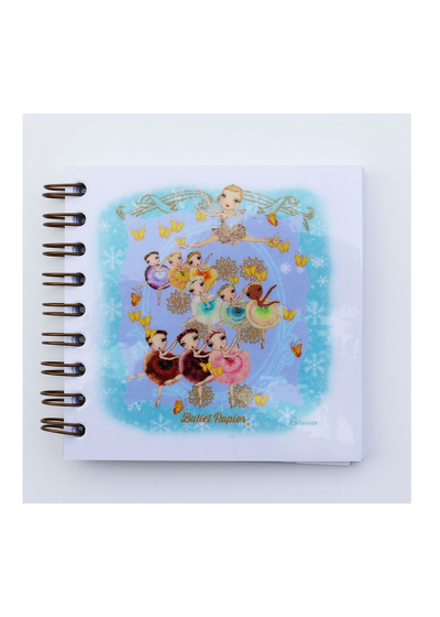 Square Notebook Waltz of the Flowers