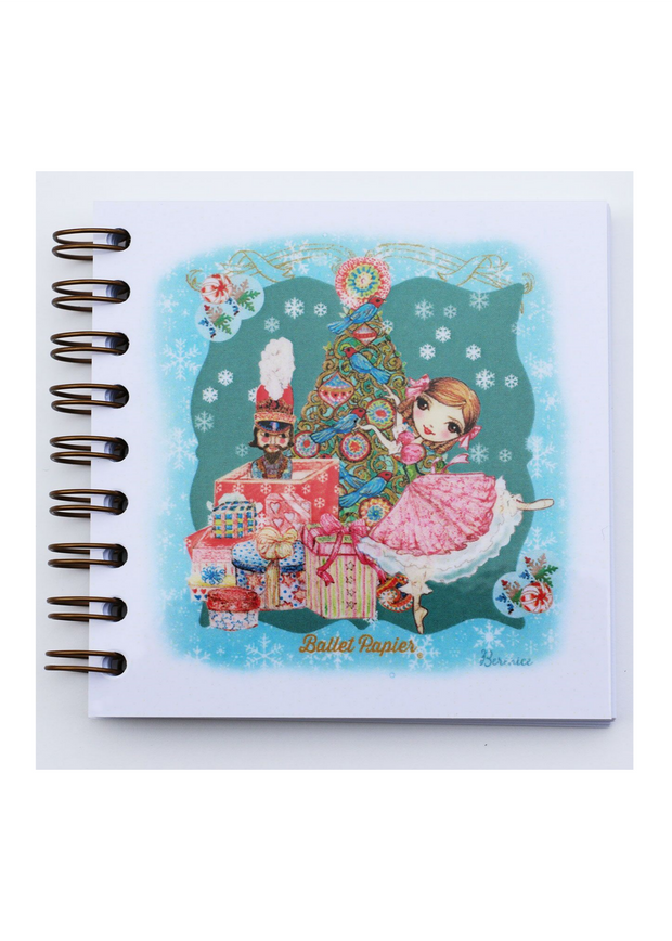 Square Notebook Clara and The Nutcracker