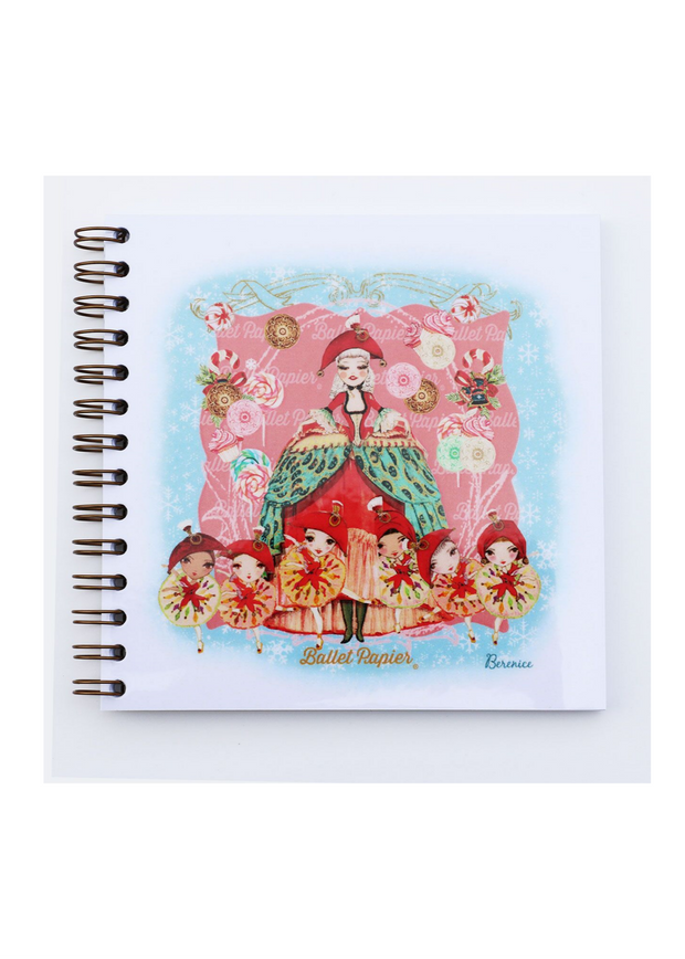 Square Notebook Mother Ginger