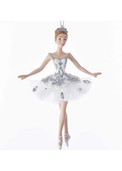 Resin Snow Queen Ballerina Ornament