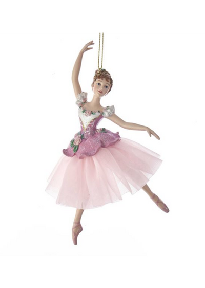 Waltz Of Flowers Ballerina Ornament