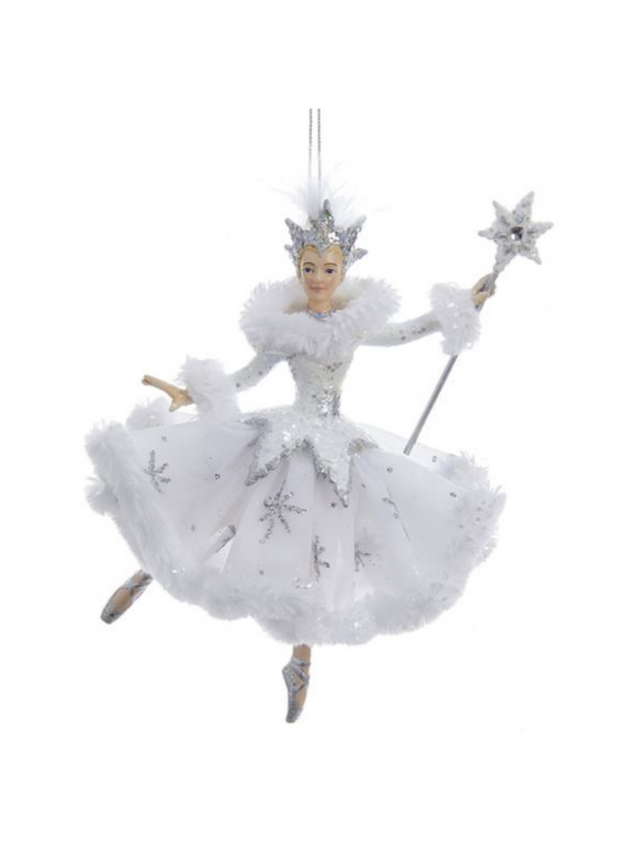 Snow Queen Ballerina Ornament