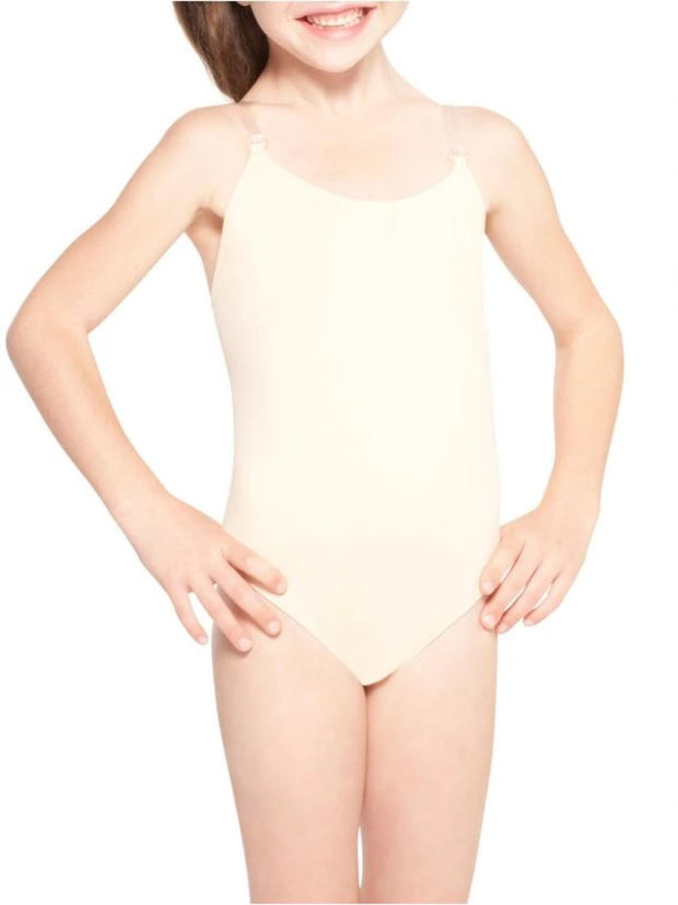 Girl´s Camisole Leo with Clear Straps