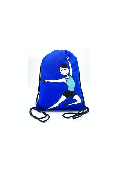 Male Dancer Drawstring Backpack