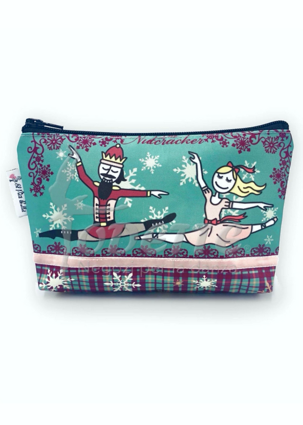 Nutcracker Makeup Bag