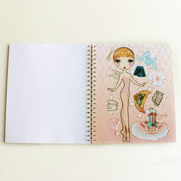 Coppelia Ballet Étoiles Notebook