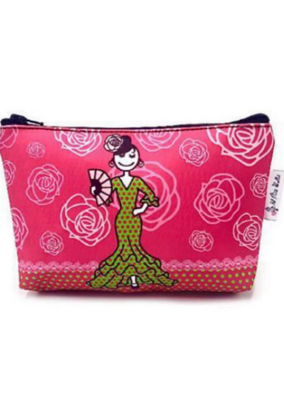 Flamenco Dancer Makeup Bag