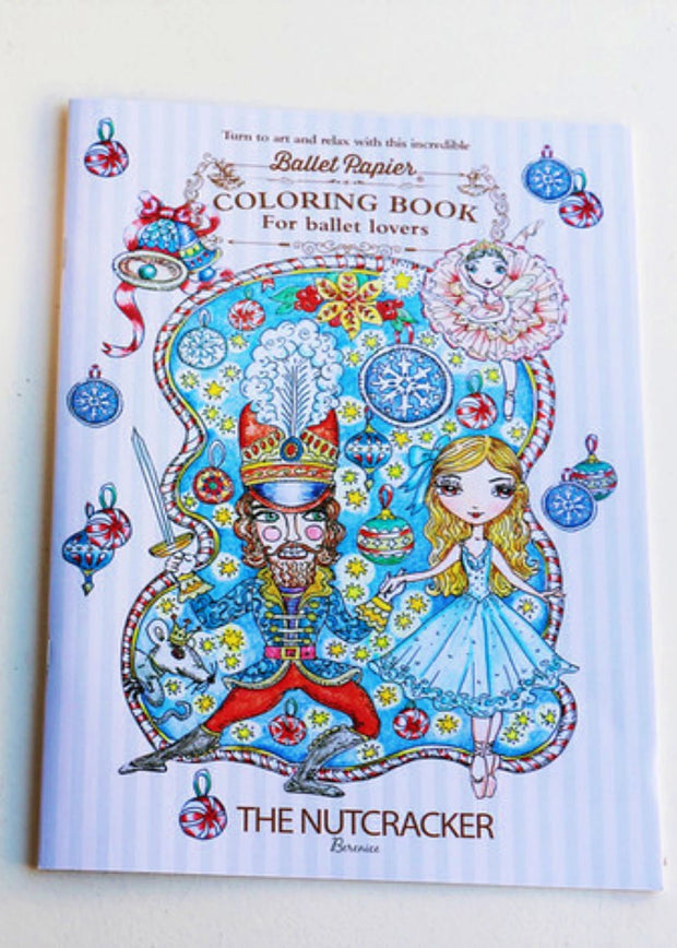 The Nutcracker Colouring Book