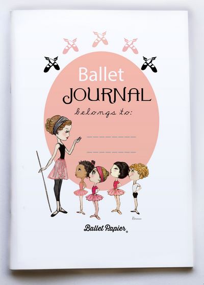 A4 Notebook Ballet Journal