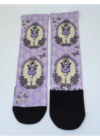 Lilac Fairy Socks