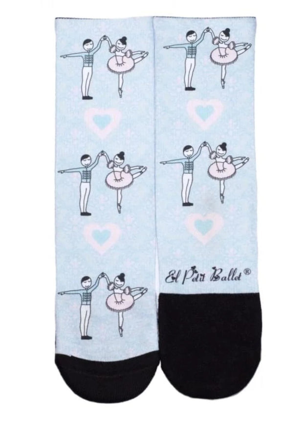 Sleeping Beauty Socks