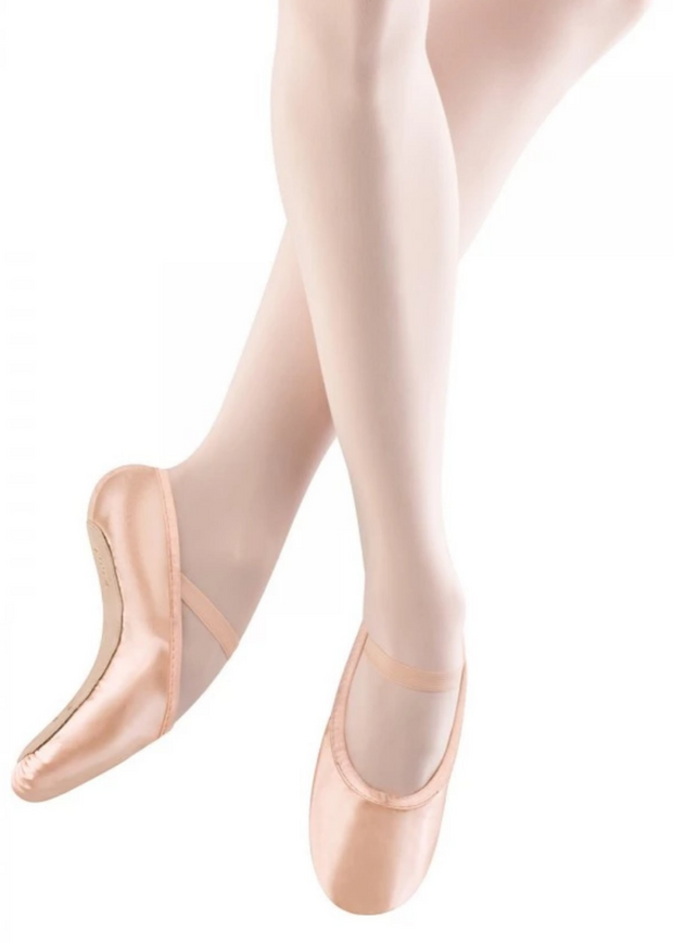 Stretch Satin Ballet Slipper Children