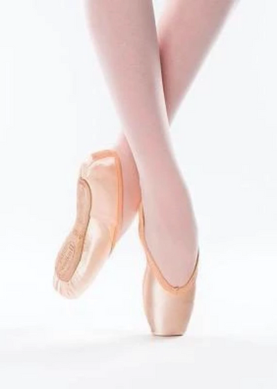 Studio Professional Pointe Shoe, Hard Shank, V Cut Vamp