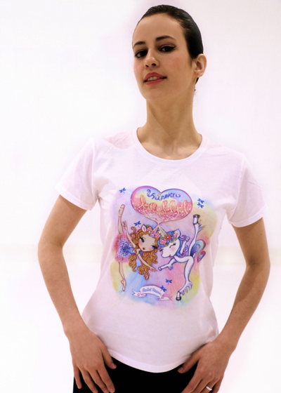 Girl's Ballet Unicorn T-shirt