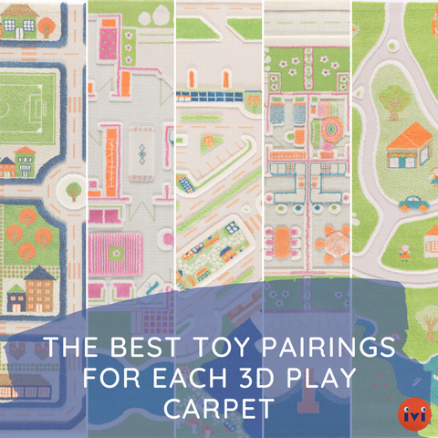 The Best Toy Pairings for Each 3D Play Carpet