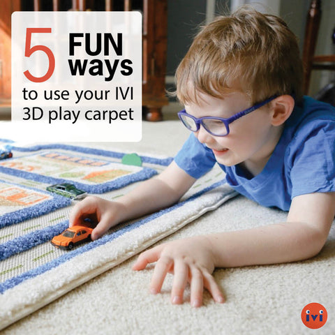 5 Fun Ways To Use Your IVI 3D Play Carpet
