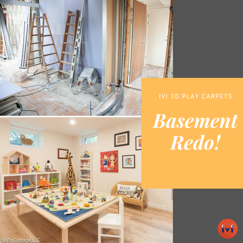 How to Use Home Decor to Turn Your Scary Basement Into a Finished & Beautiful Space