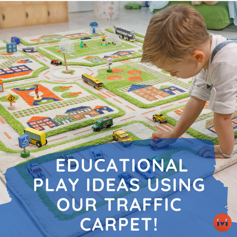 Educational Play Ideas Using IVI's Traffic Carpet