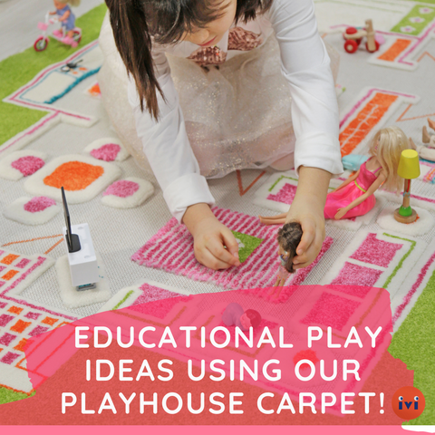 Educational Play Ideas Using Our Playhouse Carpet