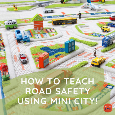 4 Ways to Teach Your Kids Road Safety with our Mini City Play Carpets