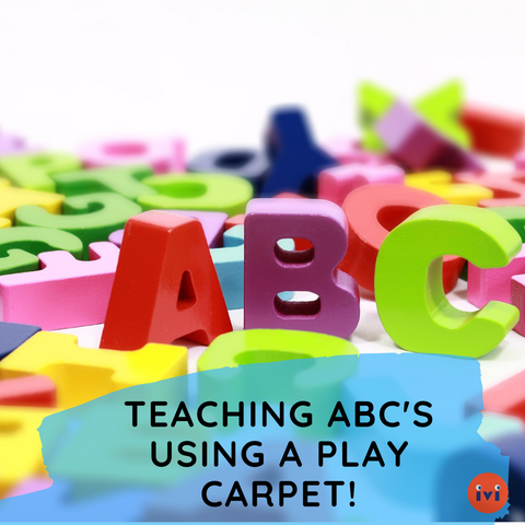 Tips For Teaching Your Toddler ABC's Using a Play Rug
