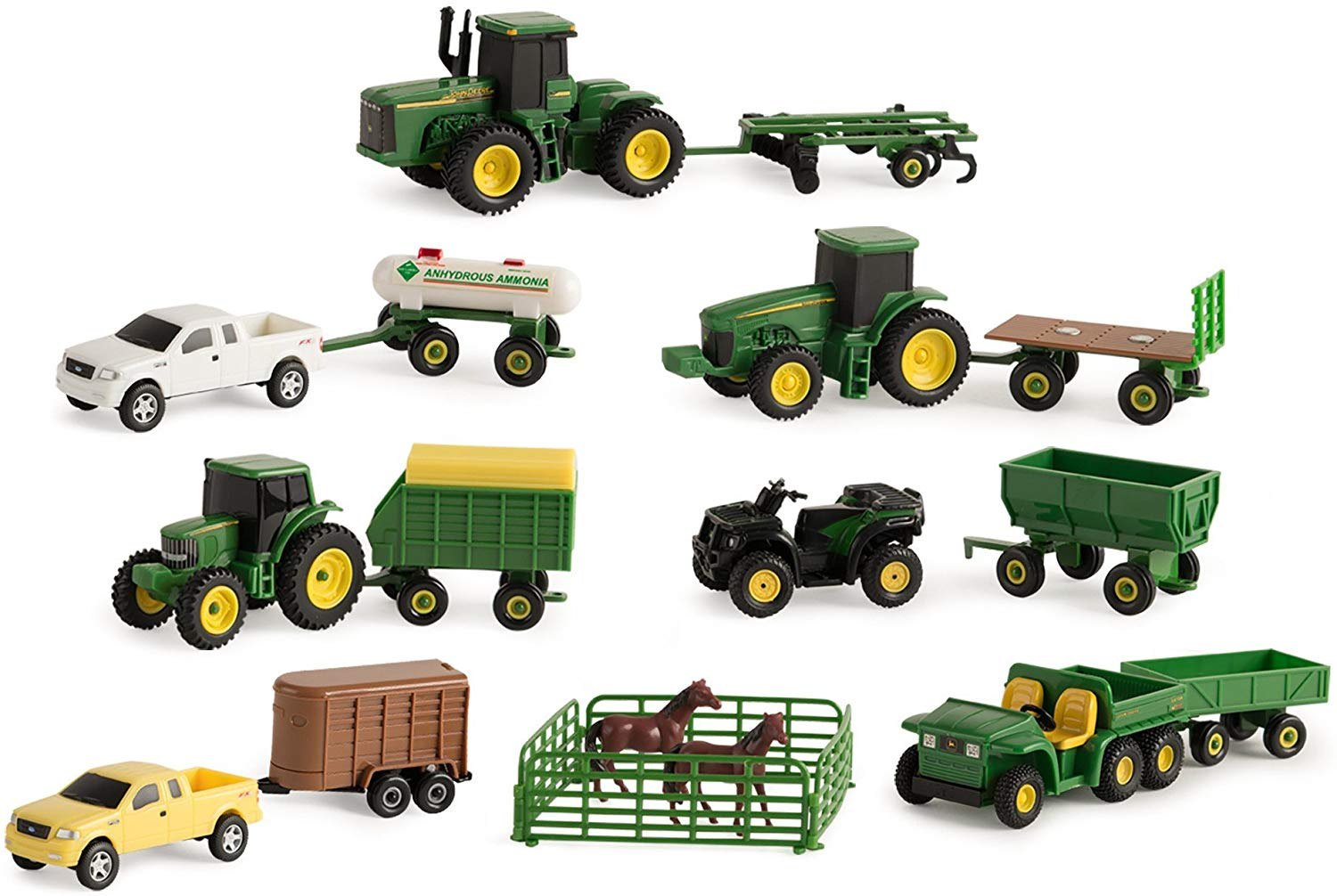 John Deere Farm Vehicle Set