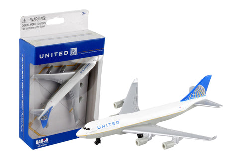 UNITED 747 Single Airplane