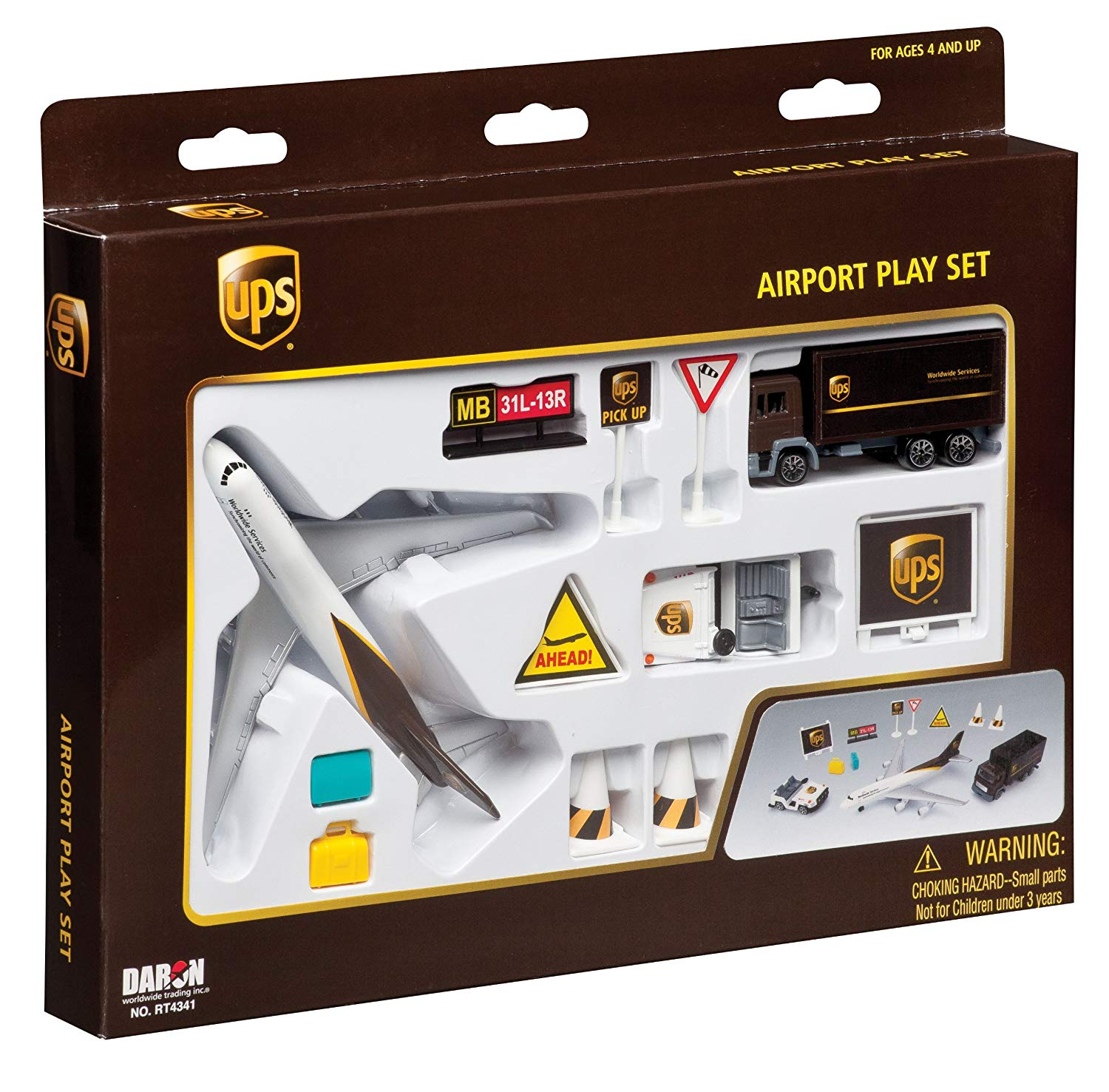 UPS Airport Play Set