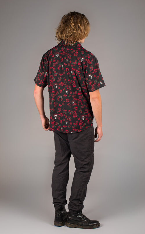 Grateful Dead Dress Shirt - Skull & Roses