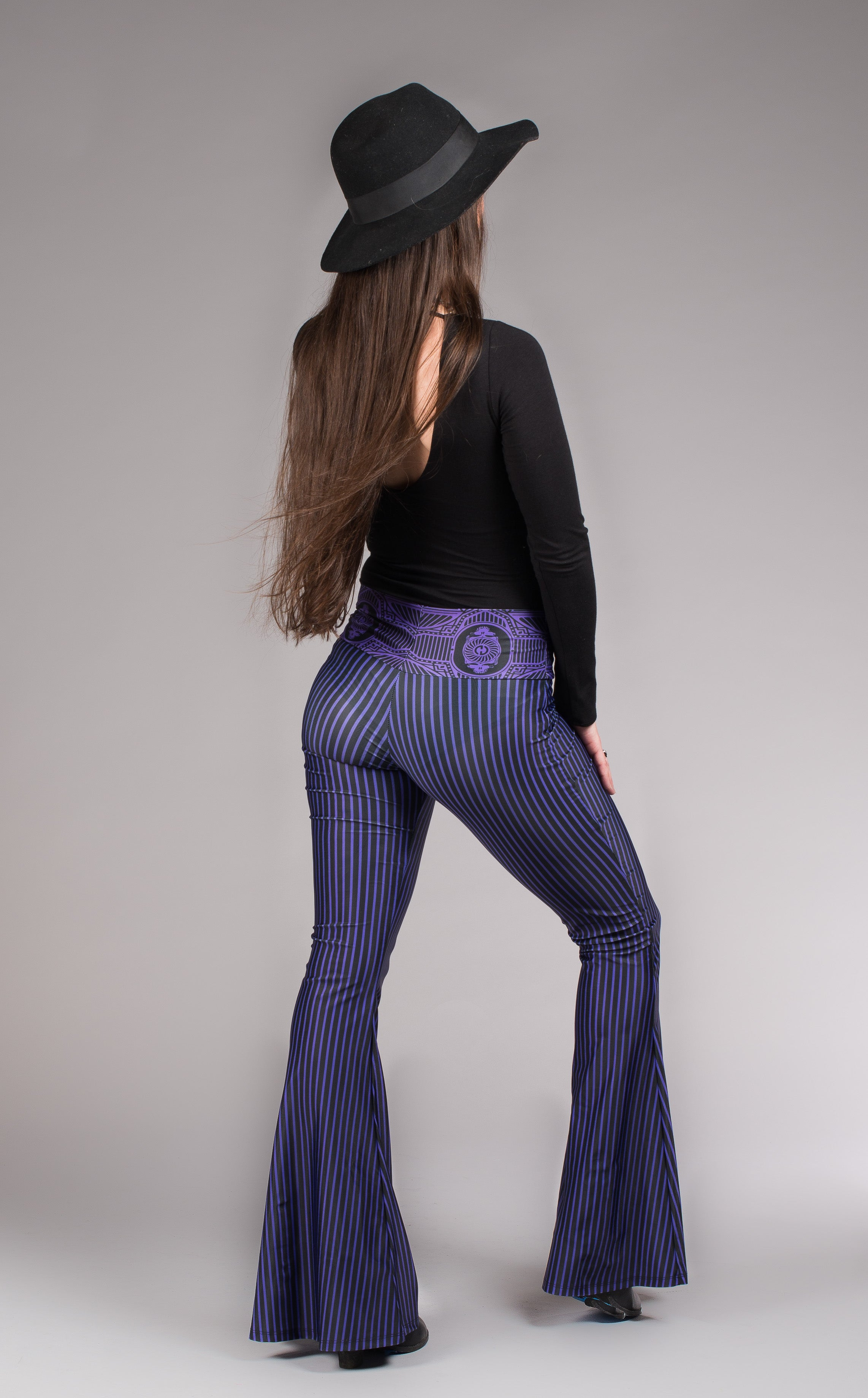 Grateful Dead Bell Bottoms - Royal Purple