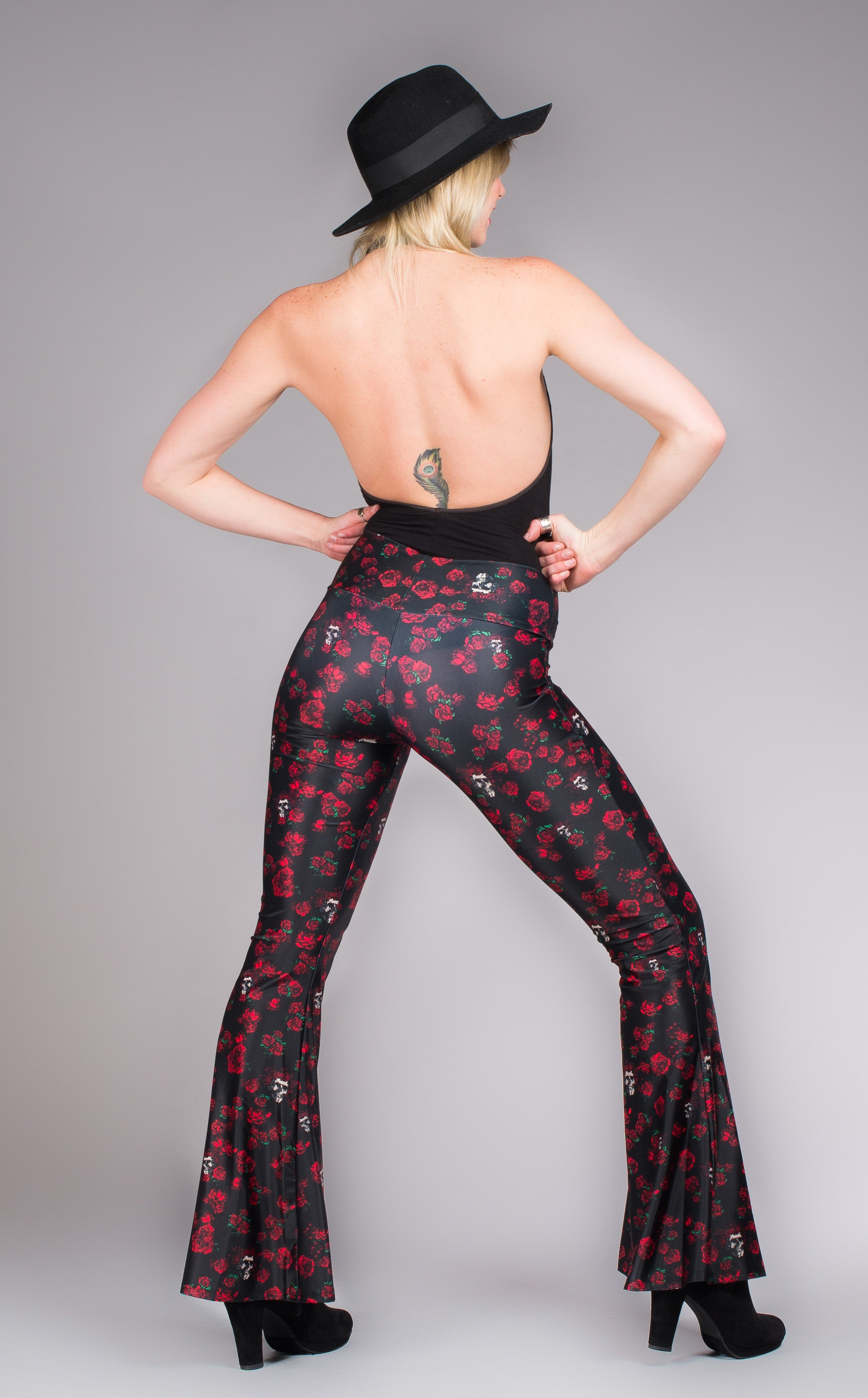 Grateful Dead Bell Bottoms - Skulls n Roses