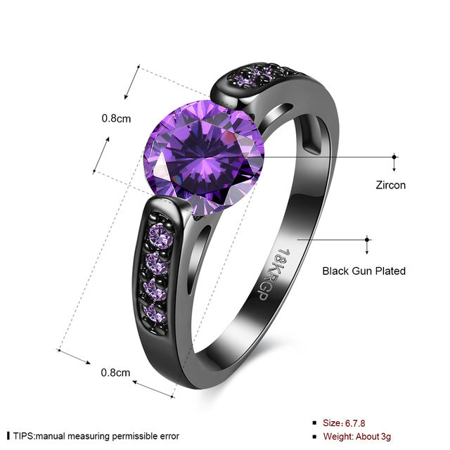 new rings shaped rose models color women heart tail female shop six hi ring buy jewelry gold t