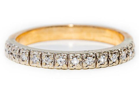 Two-Tone Gold Ring