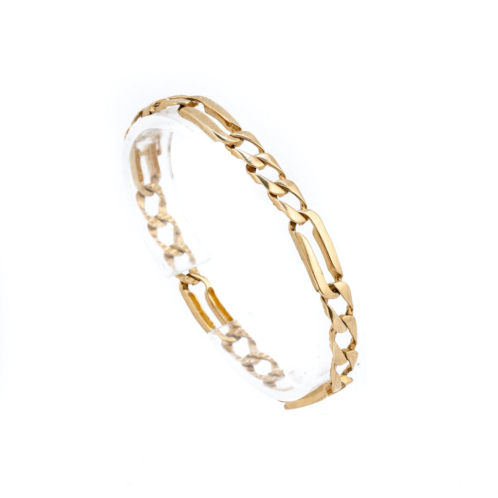 10K Gold Chain Bracelet - Kingdom Jewelry