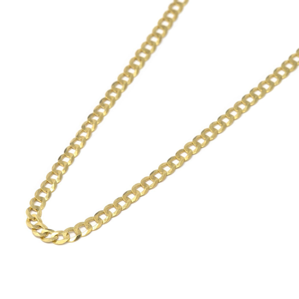 10kt Curb Link Chain - Kingdom Jewelry